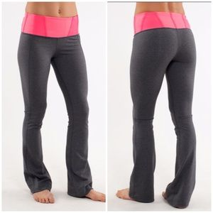 Lululemon grey cinch ankle high rise yoga pants 6